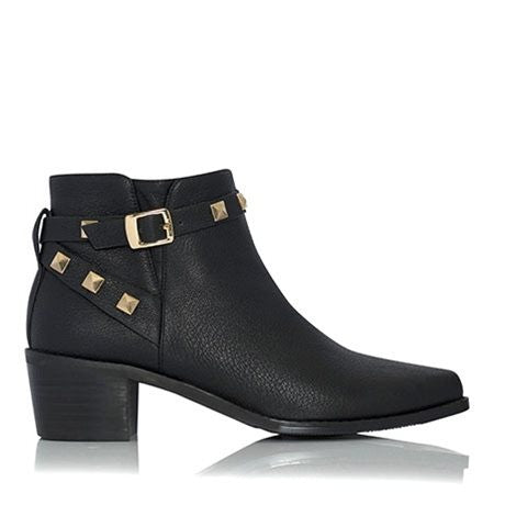 Nano Black Ankle Boots by Billini