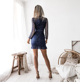 Riverdale Dress - Navy