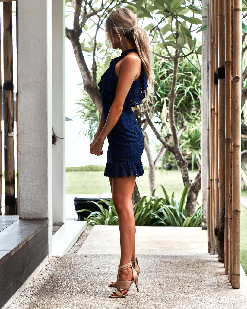 Shayne Dress - Navy