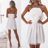 Snowflake Dress - White