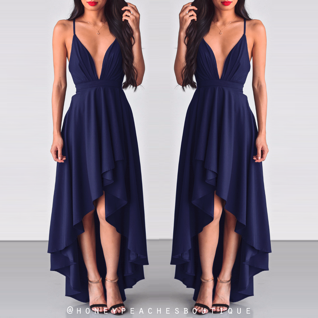 This Love Is Forever Dress - Navy