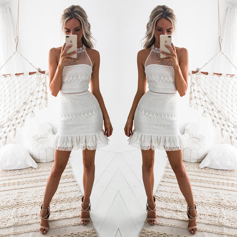 Tessie Dress - White