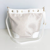 Olivia Bucket Bag - White