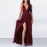 The Way I Love You Maxi Dress - Wine