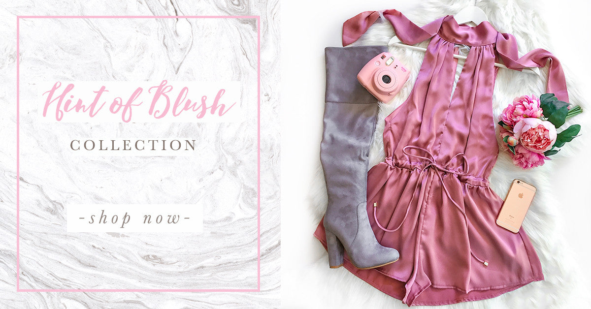 Hint of Blush Collection