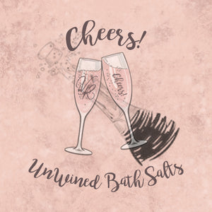 Un-Wined Bath Salts - Cheers! Collection