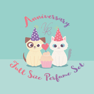 Full Size Set of Anniversary Collection Perfume Oil