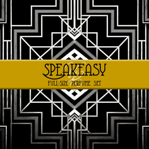 Full Size Set of Speakeasy Collection Perfume Oil