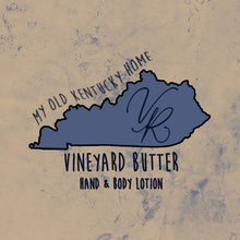Load image into Gallery viewer, Vineyard Butter Hand & Body Lotion - My Old Kentucky Home Collection