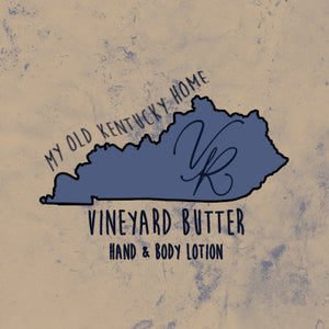 Vineyard Butter Hand & Body Lotion - My Old Kentucky Home Collection