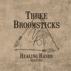Healing Hands Sanitizer - Three Broomsticks Collection