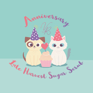 Late Harvest Sugar Scrub - Anniversary Collection