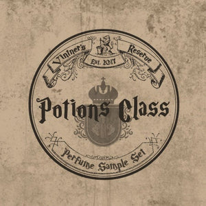 Sample Set of Potions Class Perfume Oils