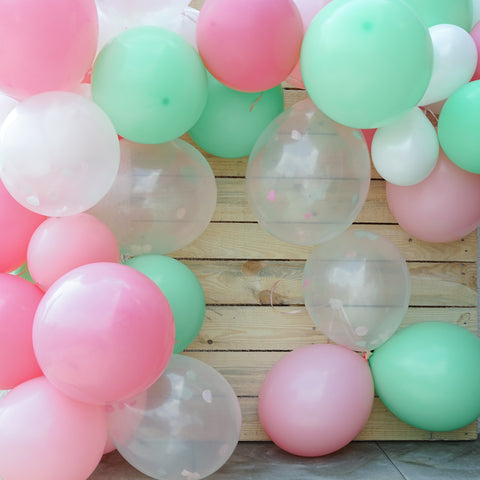 DIY Luftballon Girlande