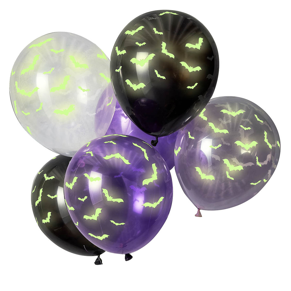 ginger ray glow in the dark fledermaus ballons