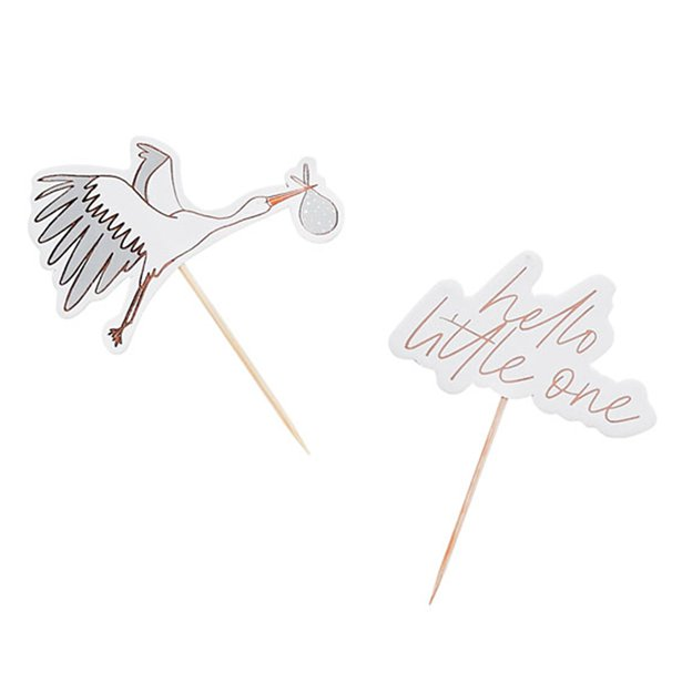 hello little one party picks storch rosegold
