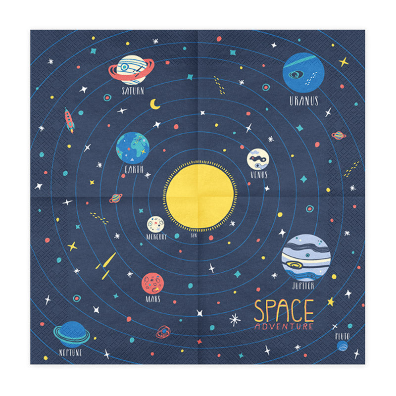 space party servietten