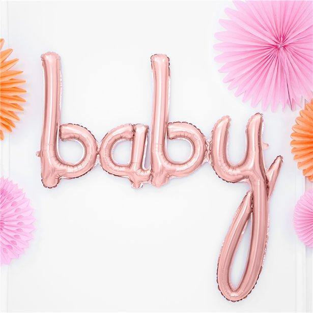 baby Ballon Girlande Babyparty Deko