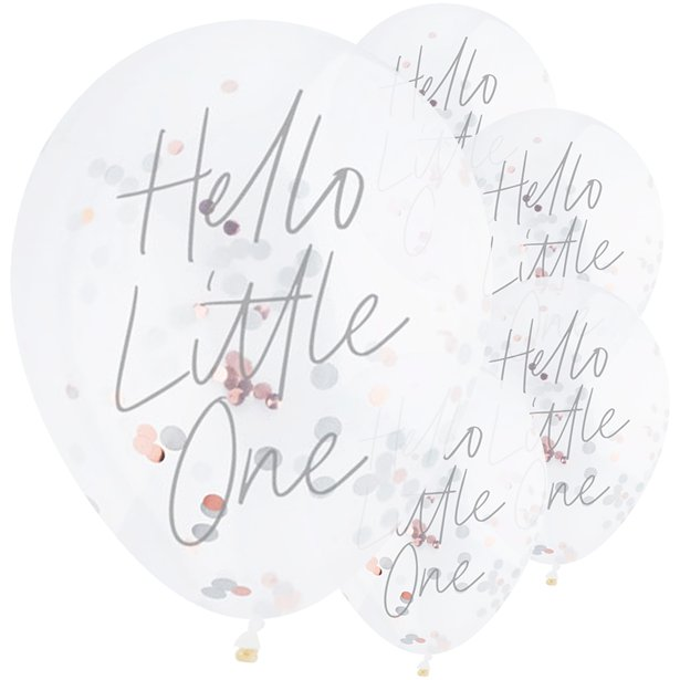 Hello Little One Babyparty Ballon