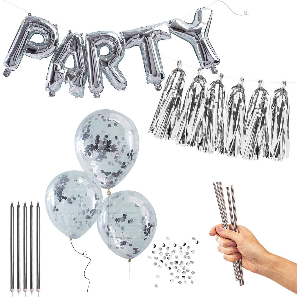 party set silber set 1