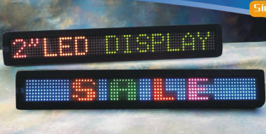 Full Color Indoor Scrolling Message LED Sign