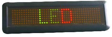"15"" Tri-color Scrolling Programmable message LED Sign"