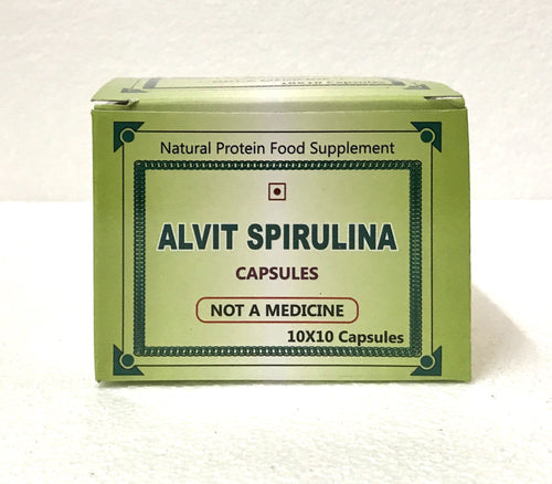Alvit Spirulina Capsules | Pharma Buying