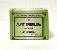 Load image into Gallery viewer, Alvit Spirulina Capsules - 5 boxes