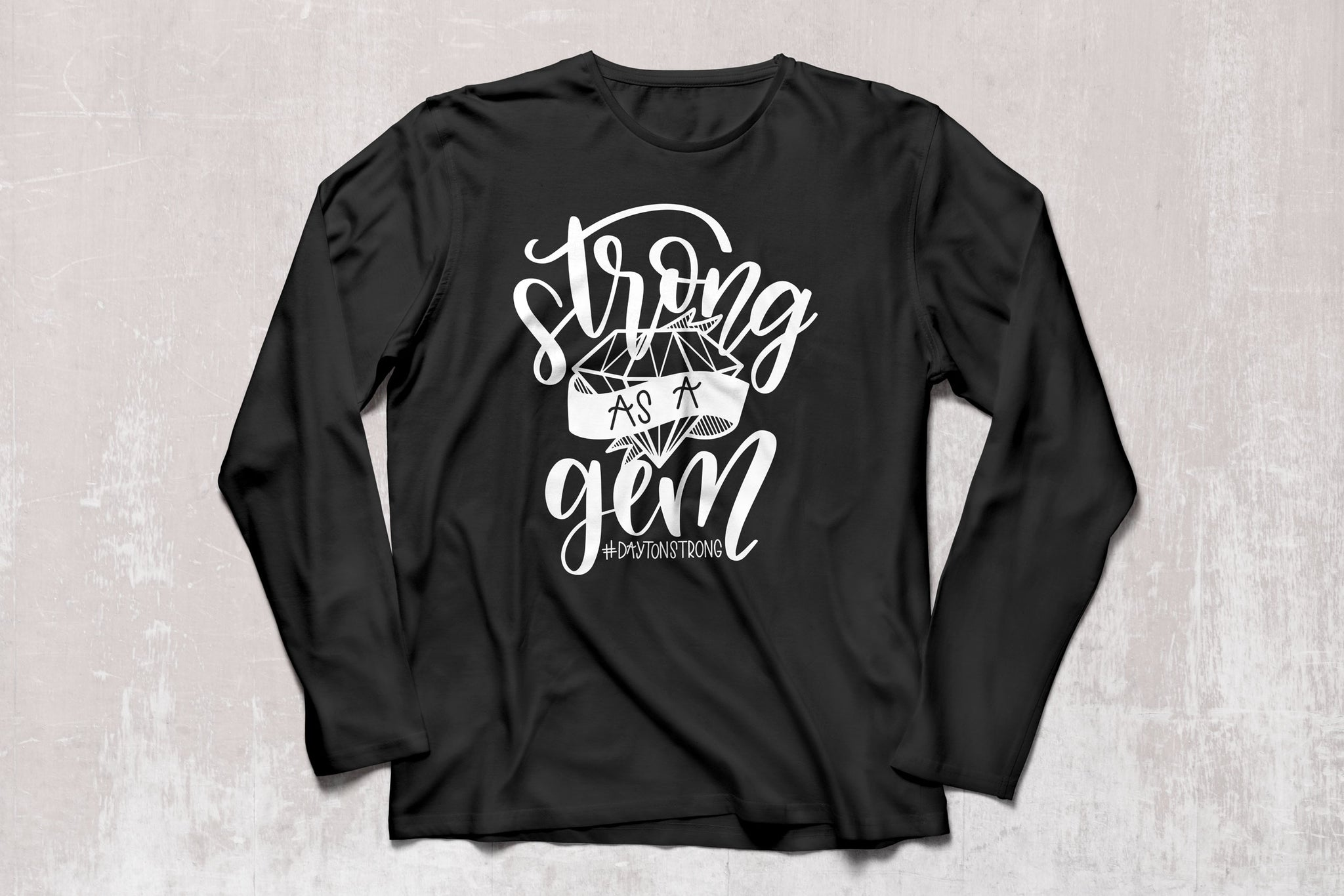 Dayton Strong as a Gem Long Sleeved Shirt