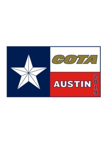 COTA Texas Pin