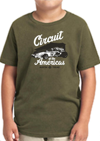 Kids Vintage Car COTA T-shirt