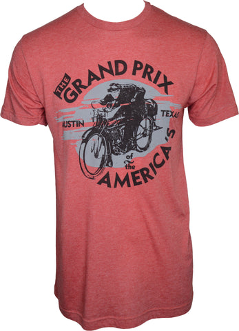 Vintage Red GP of The Americas T-shirt