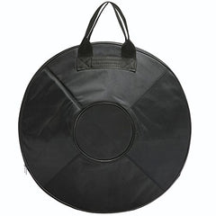 """OW"" hand pan in D Minor 9 notes steel hand drum + Soft Hand Pan Bag (22.8"" (58cm), Brass Surface (D Minor) 9 notes D3 A Bb C D E F G A)"