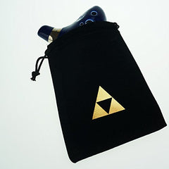 12 Hole Ocarina From Legend of Zelda Alto C Dark Blue for Any Level Available from OcarinaWind Music Instrument Gift Idea