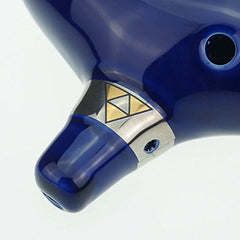 OcarinaWind 12 Hole Ocarina From Legend of Zelda Alto C Dark Blue
