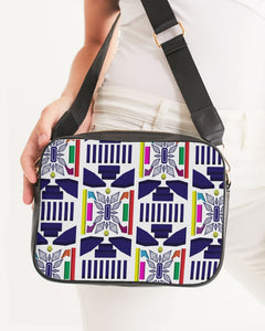 3D Jeweled Flag Crossbody Bag