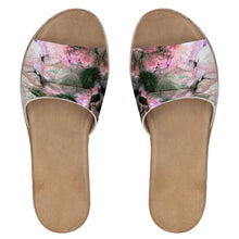 Load image into Gallery viewer, Chalkwater Crush Womens Leather Sliders
