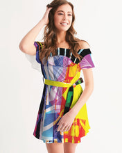 Load image into Gallery viewer, urbanAZTEC Women's Off-Shoulder Dress