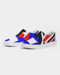 80s Diamond half Men's Slip-On Canvas Shoe