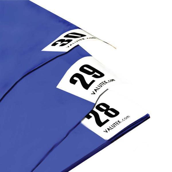 Adhesive Mat 18x45 Blue,  White | 30 Sheets/Mat 4 Mats/Case