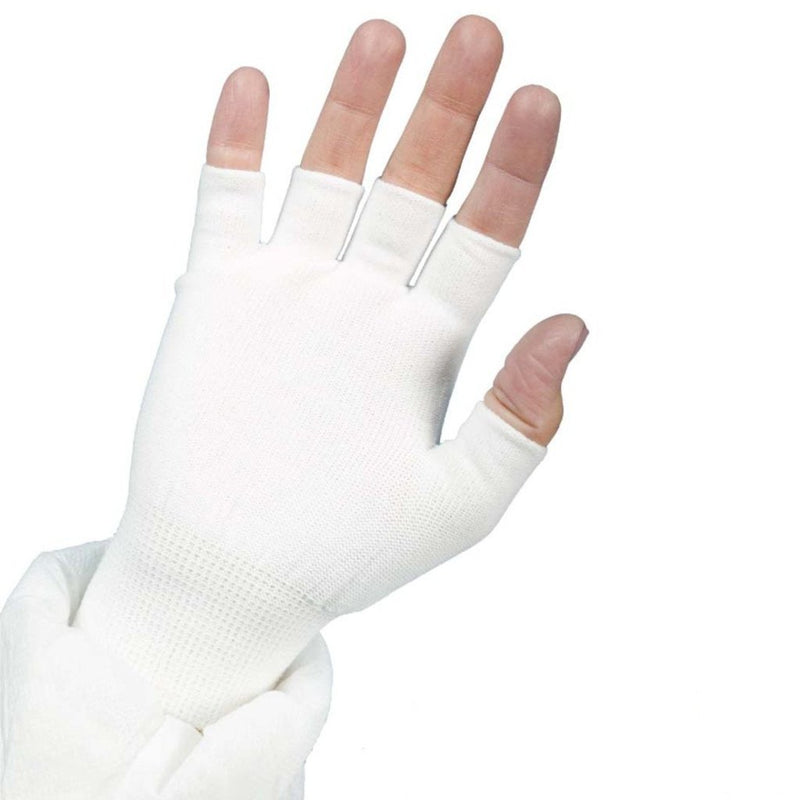 Nylon Glove Liner Full Finger  | 12 Pairs/Bag