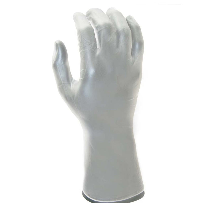 "PVC Cleanroom Glove 12"" Cuff  