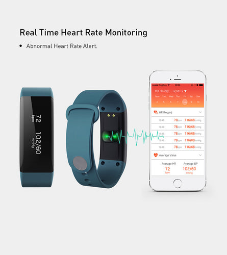 Biotraka Monitor Wearable -  Blood Pressure and Heart Rate monitoring