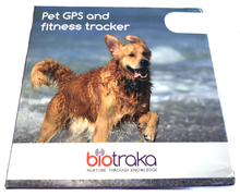 Load image into Gallery viewer, Biotraka Aware GPS pet tracker retail pack