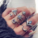 40 Styles Women Bohemian Vintage Crown Set