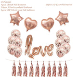 Rose Baby Shower Anniversary Event Party Decor Supplies