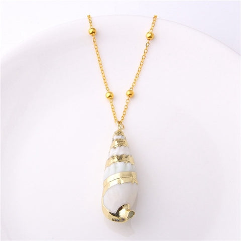 Femme Shell Cowrie Summer Jewelry Bohemian