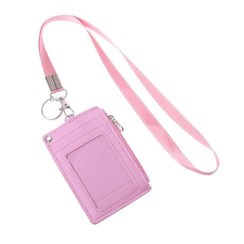 Business Credit Card ID Badge Coin Purse Holder