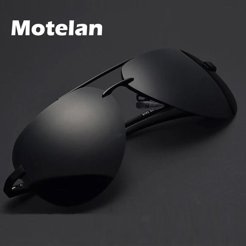 Men's Polarized Sunglasses  Eyewear Male Pilot Style