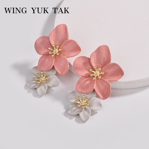wing yuk tak 4 Color Trendy Pink Flower
